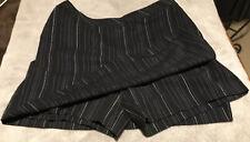 Ashworth Black Women's Sz 6 Skort Athletic Golf Tennis Shorts Skirt - Xlnt Cond!