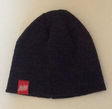 Black Toque Alpine Hat Beanie Knit Ski Sport Caps Wool Winter ActiveWear Outdoor