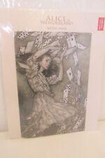 Alice au pays des merveilles Métal Signe, Arthur Rackham Art, British Library 2016
