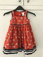 Girls Janie and Jack American Designer Dress Summer Dress Age 2