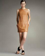 NEW Vince Honey Colored Leather Dress - 6