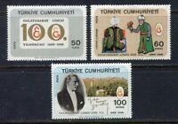 30987) Turkey 1968 MNH Galatasaray High School 3v