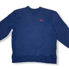 VTG Reebok Blue  Sweater Size Large