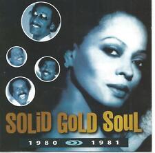 RARE TIME LIFE 2 CD SET SOLID GOLD SOUL 1980-1981 MINT DIANA ROSS JACKSONS EWF