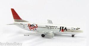 Herpa 505932  JTA Papas Island Boeing 737-400 Fish Livery 1:500 Scale JA8954 RET