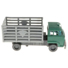 Plastic Large Truck Military Model Toy Soldiers Army Men Accessories -Grey