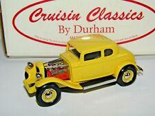 DURHAM CLASSICS '32 FORD HOT ROD YELLOW 1/43 CC-01B CRUISIN CLASSICS