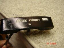 *Knight Black Knight II Offset Putter Toe and Heel Pro Balance Men's LH    #472