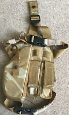 BRITISH ARMY OSPREY DDPM DROP LEG HARNESS/HOLSTER AND X2 MAG POUCHES