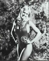 Nicole Eggert 8x10 black & white photo