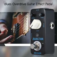 MOOER BLUES CRAB Blues Overdrive Guitar Effect Pedal True Bypass Full Metal S5S0