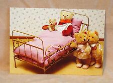 Steiff - Steiff  Teddy Babies and Dolly Bear Postcard