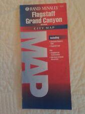 1993 Rand McNally city map of The Grand Canyon and Flagstaff, Arizona