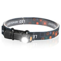Bright Head Torch LED USB Rechargeable Headlamp Headlight Camping Running CZ