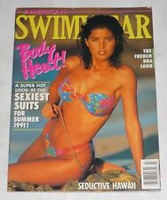 AMERICAN SWIMWEAR Magazine March 1991 Hi Grade! SOMALY SIENG Venus Swimsuits USA
