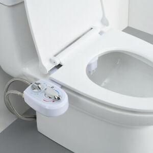 Kibath 1151414 Intimate Hygiene for Bidet Replacement Cold and Hot Water Mixer Tap for Toilet with Hand Shower