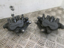 KAWASAKI ER 6F ABS 2011 PAIR OF FRONT BRAKE CALIPERS  (BOX)