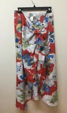 Vintage Hilo Hatties Sarong Wrap Dress Cover Up~Hawaii Asian Print~One Size