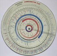 "Grand Chemical Slide Rule ""Chimeiomaton G pH"" / Große Chemie-Rechenscheibe"