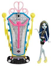 Monster High Frankie Stein & Station Fantas Fusion Poupée de collection rare bjr46