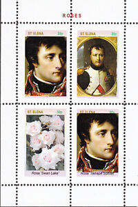 NAPOLEON  OVERPRINT - 4 SHEETS private issue LIMITED EDITION!!!