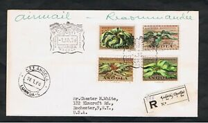 Angola - 1959 First day cover - SG 538/541 - Welwitschia discovery Centenary