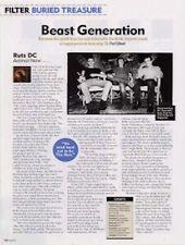 Ruts DC 'Animal Now' a retrospective Article