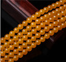 """4/6/8/10mm Natural Brazil Topaz Gemstones Round Loose Beads 15""""AAA"""