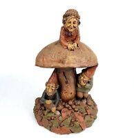 TOM CLARK Gnome Figurine CAIRN Studio Parsley Sage Thyme 1983 Large Mushroom