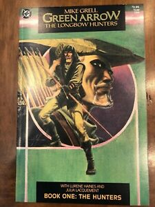 DC Comics Green Arrow: The Longbow Hunters #1-3 (1987) #1 is a 2nd Print HQ