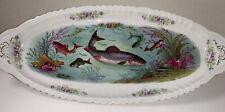 """Victoria Austria Porcelain Large Fish Platter   20 1/4"""""""