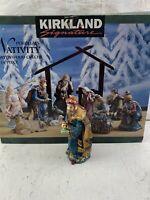 Kirkland Signature Porcelain Nativity Set #75177 Standing King Replacement Pc.