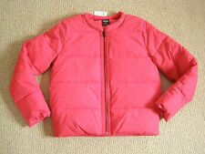 NEW Kate Spade Womens Small Red Puffer Coat Jacket 2 4 Saturday Pump It Up $240