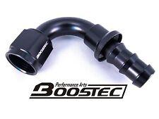 BOOSTEC Push On/Socketless Hose End/Fitting 10AN AN10 120 degree Black