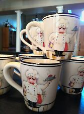 EUC 2  (two) GALLERY (HD Designs) Le Chef Large Coffee Mugs Cups (6 available)