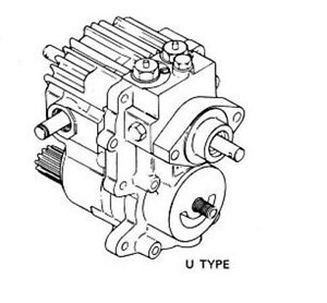 Sauer Sundstrand 15 Series U Type lawn tractor hydro transmission gasket  kit