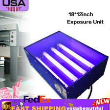 60w Uv Exposure Unit Silk Screen Printing Led Light Box Plate Printing Machine