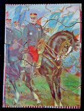 Rare French Army Warfare Victory Jigsaw Puzzle Early to Mid 20th Century