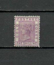 s22704) GOLD COAST 1888 MLH* Definitives 1/ Scott 19a violet
