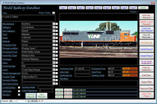 Model Railway Image Database Software NEW 2009 PRO CD Windows 7/8/10 XP Vista