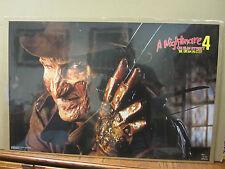 Vintage A Nightmare on Elm Street 4 Dream master movie poster 1765