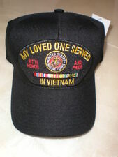 MY LOVED ONE SERVED IN VIETNAM/MARINES BASEBALL CAP