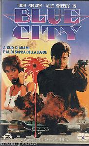 VHS= BLUE CITY (1986) VHS =
