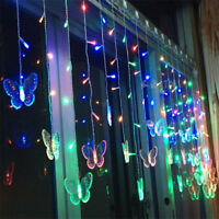 Butterfly LED Strip Fairy Lights Globe Ball String Light for Xmas Party Christma