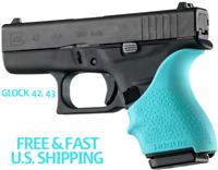 HOGUE BEAVERTAIL Handle grip Sleeve Glock 42 & 43 Palm Groove Swells SIX COLORS