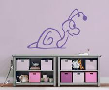 kleine Schnecke Geburt Taufe Mädchen Kinderzimmer Wandaufkleber Baby WandTattoo