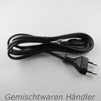 *Neu* Euro 8  Netz Kabel Stecker 2m Schwarz C7