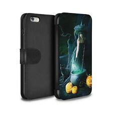 E. Dudina PU Leather Case/Wallet for Apple iPhone 6/Dark Magic/Witch's Cauldron