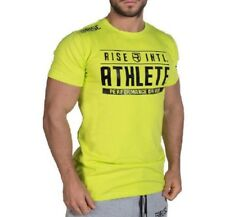Sport Shirt T-Shirt Body Fitness Eng Körperbetont Stylisch TOP Athletic Grün XL