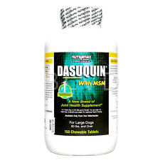 Nutramax DASUQUIN With MSM For Large Dogs Over 60 lbs 150 Chewable Tablets Count